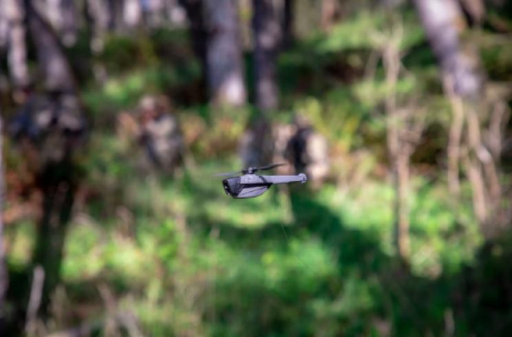 Syrian Troops Share Image of Captured Black Hornet 3 Spy Drone