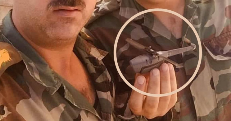 Syrian Troops Share Image of Captured Black Hornet 3 Spy Drone