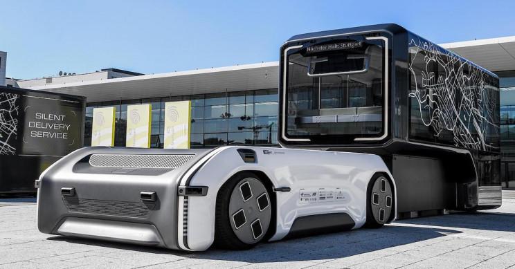 德国宇航中心推出自主电动U-Shift概念车