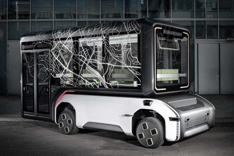 DLR Unveils Autonomous Electric U-Shift Concept Vehicle