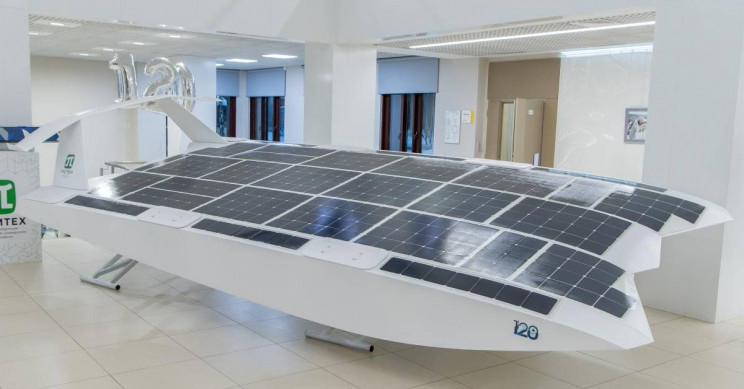 First Unmanned Solar Wing-in-Ground-Effect Vehicle Invented by Russian Scientists