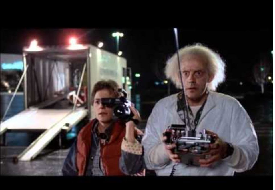 sci-fi films back to the future