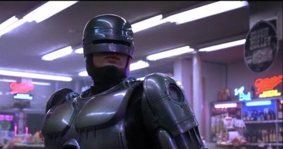 sci-fi films robocop