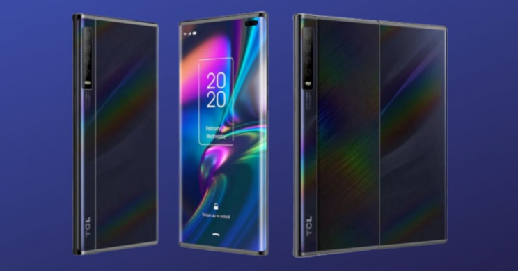 New Leaked Images of TCL Slide-Out Screen for Foldable Device