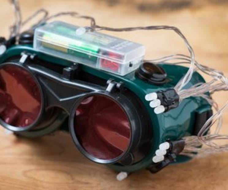 homemade gadgets night vision