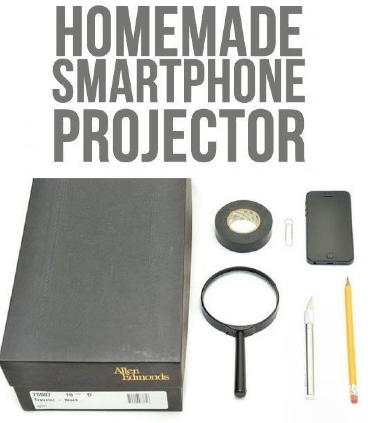 homemade gadgets projector