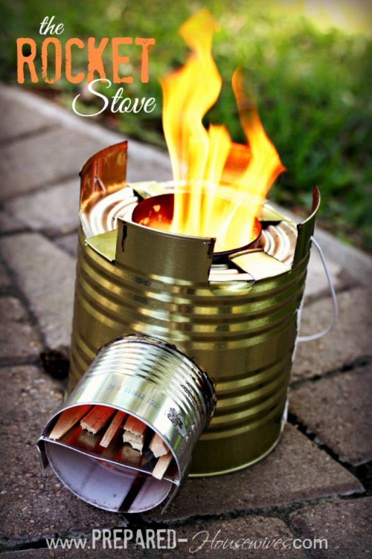 homemade gadgets stove
