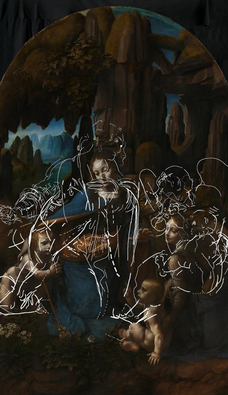 National Gallery Reveals Images of Leonardo da Vinci's First Effort for 'The Virgin of the Rocks'