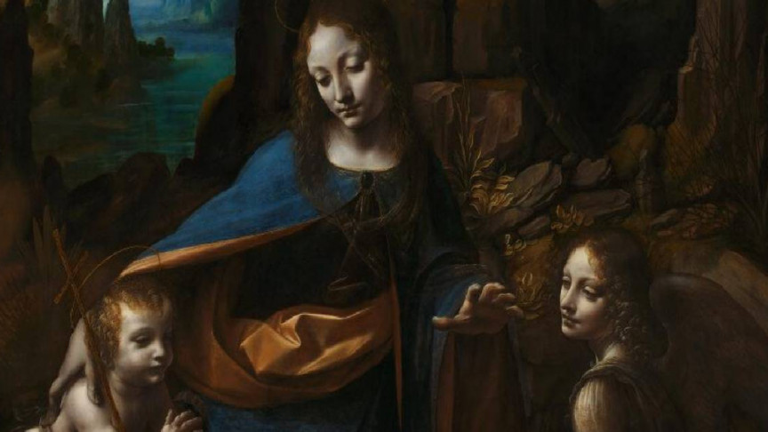National Gallery Reveals Images of Leonardo da Vinci's First Effort for 'The Virgin of the Rocks'