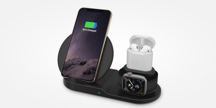 Wirelessly Charge Your Apple Devices in Style with the AirDock