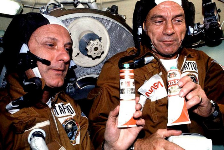 Astronauts Have Been Sneaking Booze into Space for the Past Few Decades