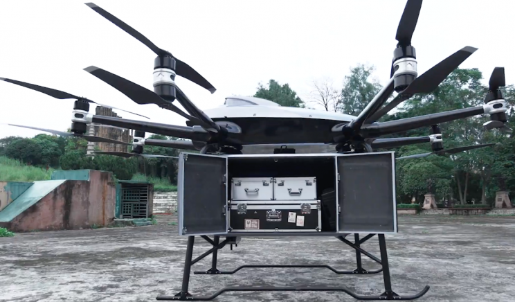 This Logistics Drone Has a 440 Pound Payload Capacity