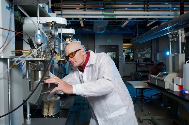 carbon capture lab
