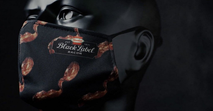 Bacon-Scented Face Mask Now Up For Grabs