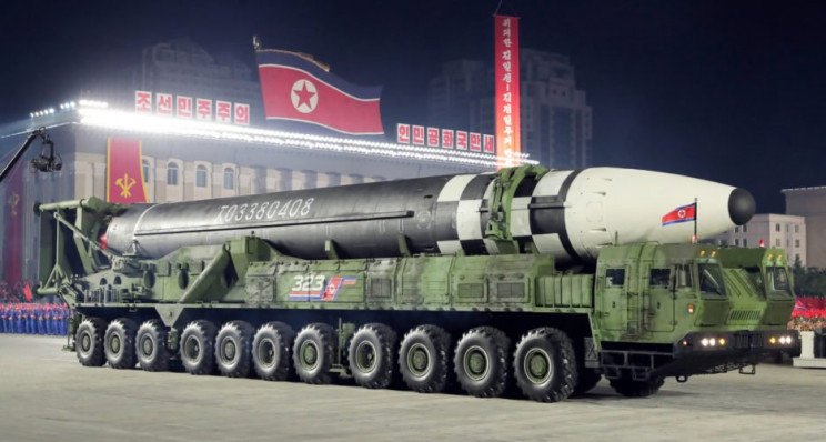 North Korea Rolls Out Biggest Missiles of Its Kind