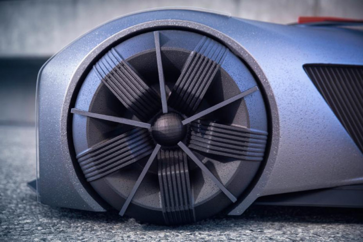 Nissan GTR-X 360-Degree Wheels