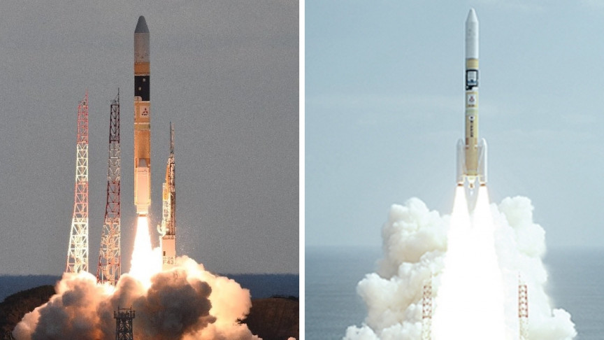 Japan Launches New Relay Laser Satellite with H-IIA Rocket - Interesting Engineering