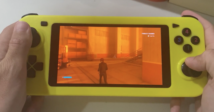 DIY Gamer 3D-Prints Game-Streaming Handheld PC