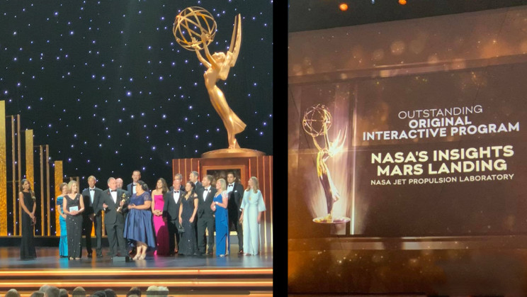 NASA Wins Two Emmy Awards for Its Coverage of Space Missions
