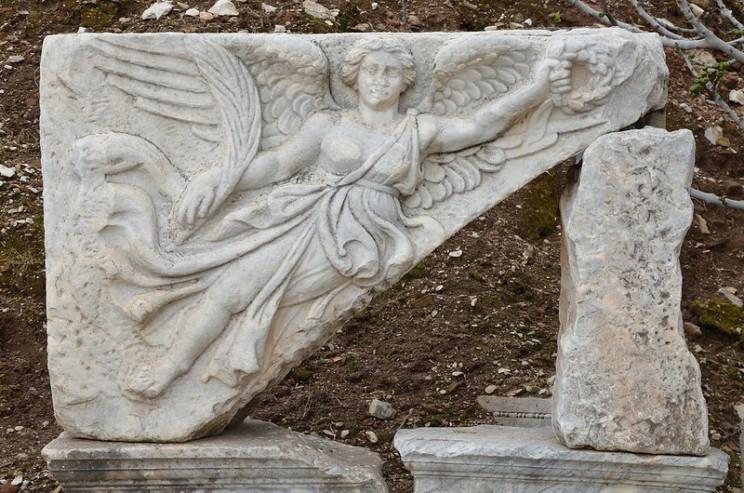 history of Nike goddess