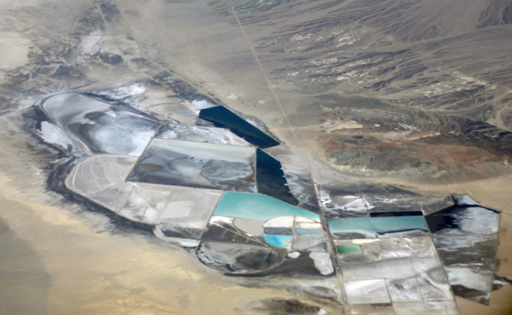 lithium production facility in Nevada