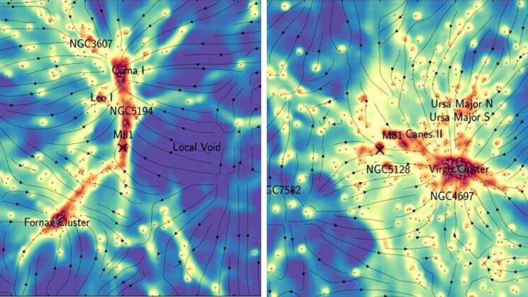 New Dark Matter Map Shows Hidden Connections Between Galaxies