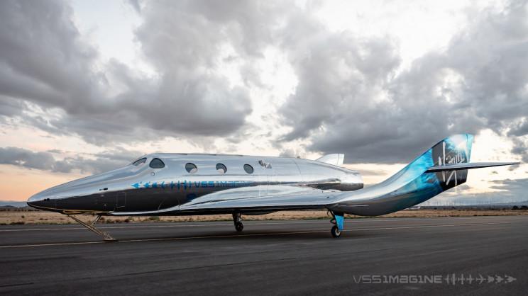 Meet 'VSS Imagine': Virgin Galactic's Next-Gen Commercial Spacecraft