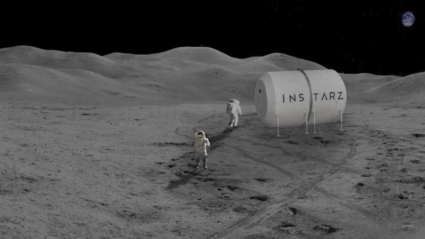 This Expandable Lunar Habitat Can Provide Shelter for Future Space Researchers