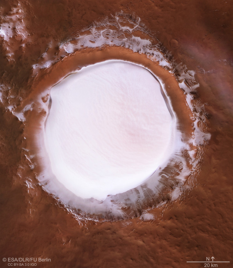 An Early Holiday Postcard from Mars Is Here