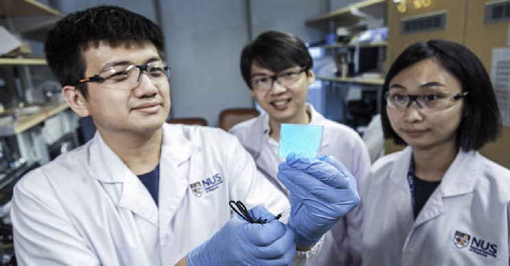 This New Electronic Material Is Stretchable, Self-Healing, and Illuminating