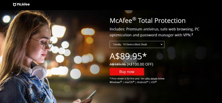 virus-proof computer mcafee