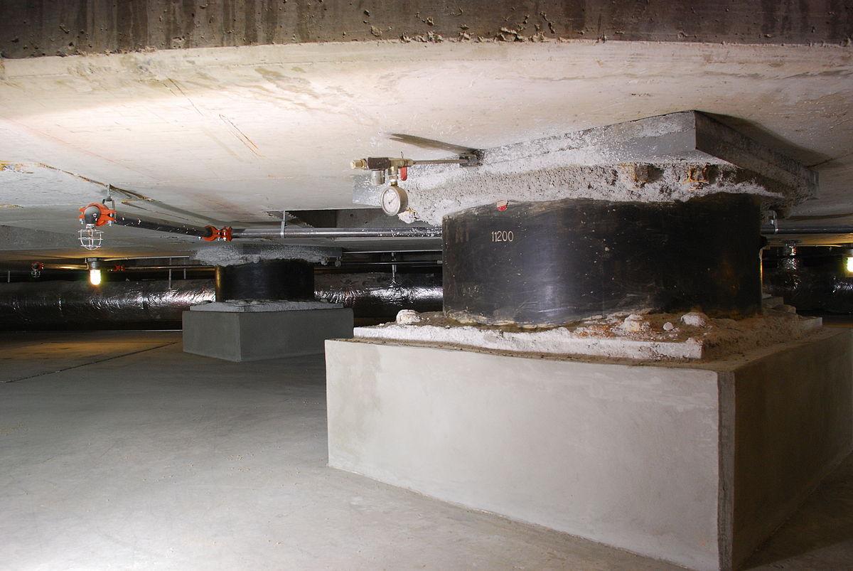building resistant buildings base isolators 1