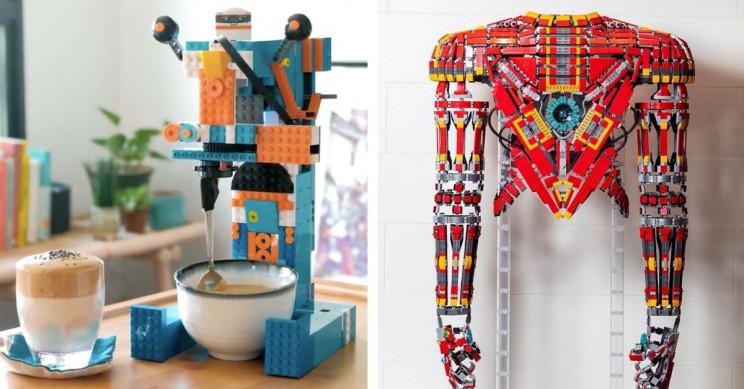 15 Imaginative Ways People Have Used LEGO Pieces