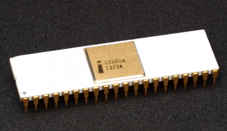 Intel 8080 chip