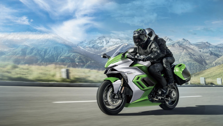 It's Official. Kawasaki Motorcycles Is Going All-Electric by 2035