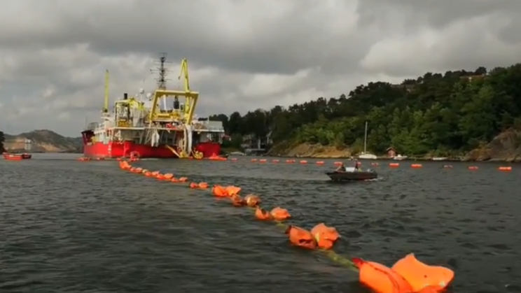 A New 450-Mile Undersea Cable Can Help Power the UK With Norwegian Energy