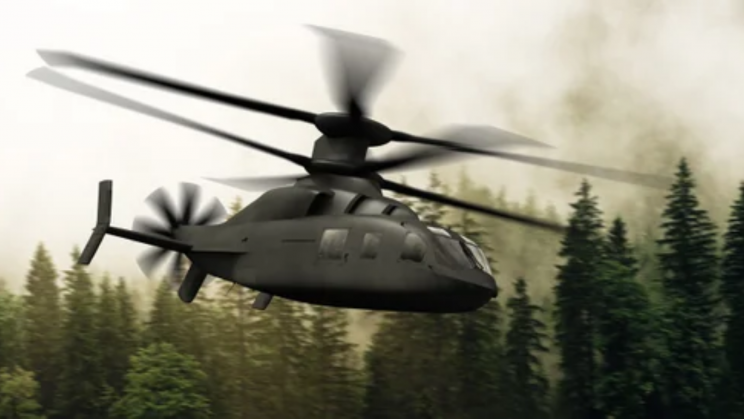 The New Defiant X Helicopter Could Fly at Twice the Speed of Black Hawks