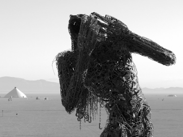 metal sculptures ectasy