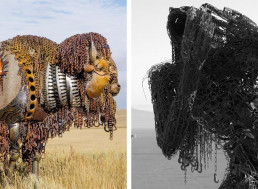 7 Incredibly Beautiful Scrap Metal Sculptures and Their Artists