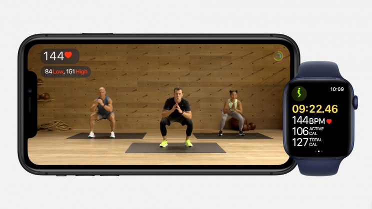 Apple Workout iPhone Watch