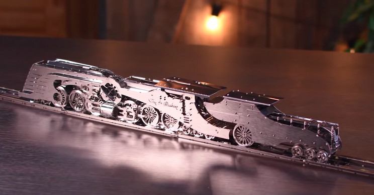 Build This Beautiful Steamliner and Practice Your Problem Solving Skills