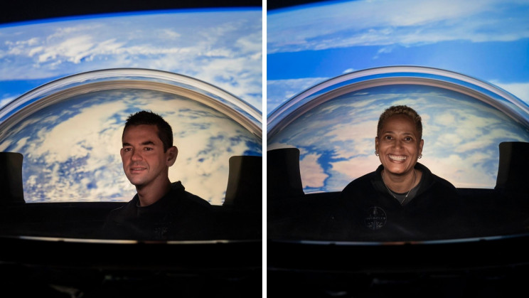 SpaceX's New Civilian Crew Dragon Capsule Has a Glass Dome