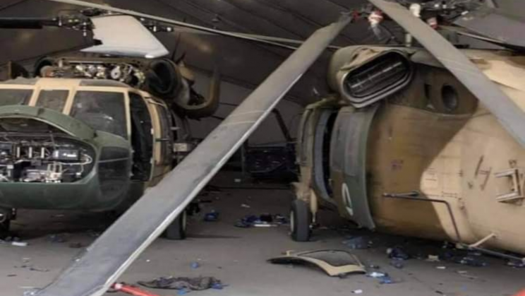Taliban Now Control Left-Behind US Aircraft but None Are Flyable