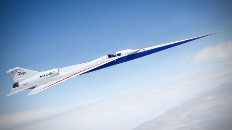NASA's 'Quiet' Supersonic X-59 Jet Approaches First Flight