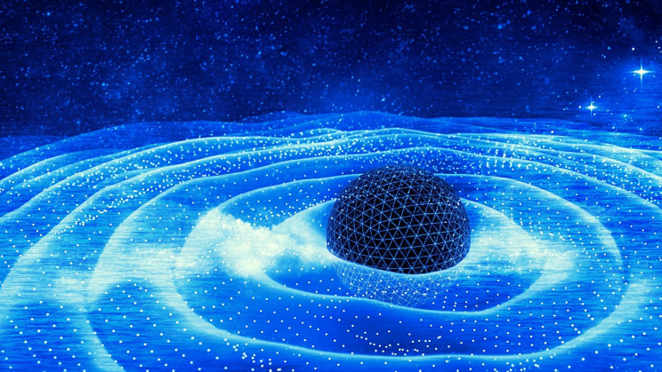 Scientists Detected Gravitational Waves That Could Stem From 'Dark Matter Particles'
