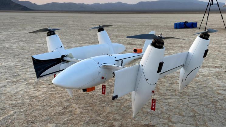 Meet Transwing: A Futuristic VTOL with Unique Folding Wing Design