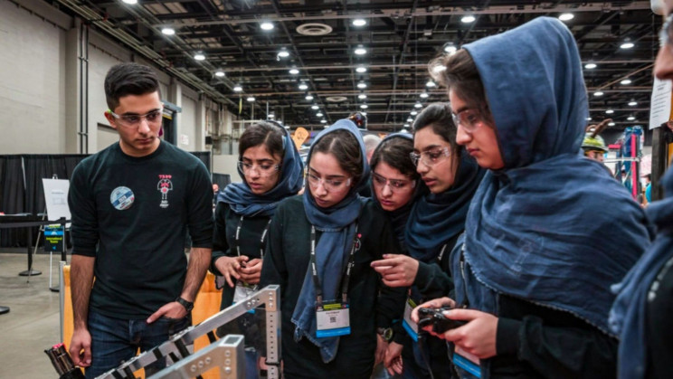 Some Members of Afghan All-Girls Robotics Team Finally Escape Country