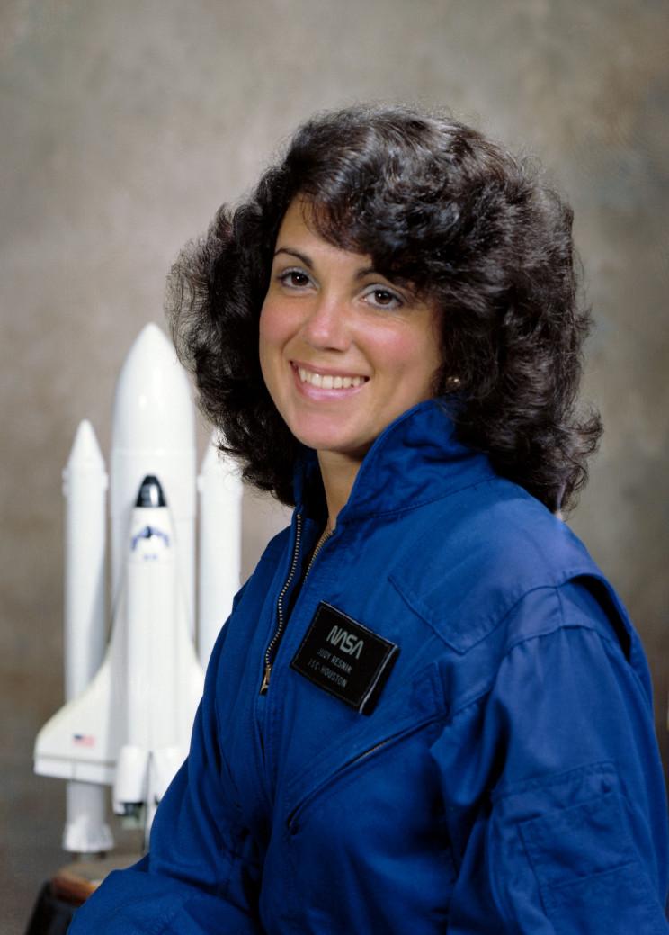 Judith Resnik's official NASA portrait