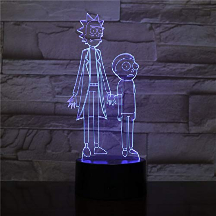 rick-and-morty-night-light