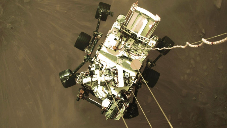 NASA Just Shared a Powerful Video of the Perseverance Rover's Mars Landing